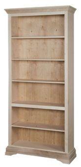 """Georgetown Bookcase 8Ft H x 30""""W One base, one fixed (at 30"""" high), and five adjustable shelves. $484.00"""