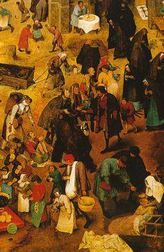 Pieter Bruegel d. Ä., Streit des Karnevals mit der Fasten, Ausschnitt (The Fight between Carnival and Lent, detail)   Flickr - Photo Sharing!