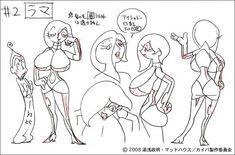 WEBアニメスタイル | 【artwork】『カイバ』第3回 各話キャラ+小物その1
