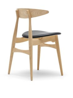 Hans Wegner CH33 Chair - Black Seat