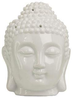 Boeddha hoofd waxinebrander porselein Piggy Bank, Money Box, Savings Jar