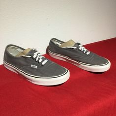 b4c4b0399a9da6 VANS gray ERA canvas .. w10 m8.5. Van ShoesMinimalAthletic ...
