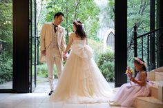 新郎新婦様からのメール 結婚式で手作りの花かんむり&ご両親へ贈る花 サンタキアラ教会の花嫁様 : 一会 ウエディングの花