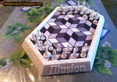 Chess Illusion: chess illusion prototype