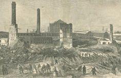 The Pemberton Mill Disaster - http://www.newenglandhistoricalsociety.com/pemberton-mill-disaster/