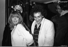 Michel Berger et France Gall à Paris, le 14 novembre 1980.