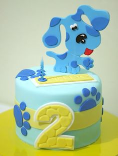 Sweet Art Cakes by Milbreé Moments: Cake... heres a clue, its Blue!