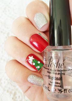 Merry Christmas ! China Glaze - Ruby Pumps n°70577 Biguine - Precious Silver n°23543 Kiko - n°533