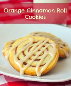 """Orange Cinnamon Roll Cookies - a fan favorite on Rock Recipes: Marg shared, """"Just made your orange cinnamon roll cookies and already shared them on FB twice. Hubby says delicious. Thank you.""""  Everyone seems to enjoy these buttery cookies with cinnamon and citrus flavor infusions."""