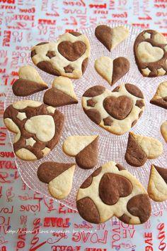 手軽★ハートの型抜チョコ&バニラクッキー by ルネ吉村 | レシピサイト「Nadia | ナディア」プロの料理を無料で検索