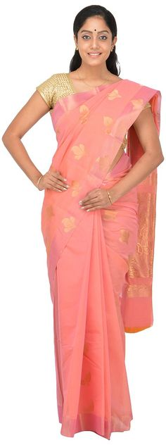 POTHYS Women's Silk Cotton Saree (PDS554, Onion Pink colour): Amazon : Clothing & Accessories  http://www.amazon.in/gp/product/B0166XEDRA/ref=as_li_tl?ie=UTF8&camp=3626&creative=24822&creativeASIN=B0166XEDRA&linkCode=as2&tag=onlishopind05-21  #Pothys #Silk #Sarees