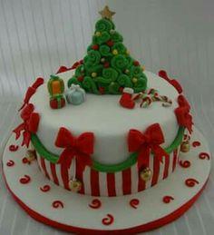 Lindo bolo de Natal!
