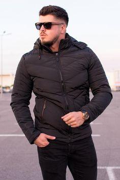 GECI | STREET STYLE RO Biker, Windbreaker, Winter Jackets, Street Style, Leather, Black, Fashion, Winter Coats, Moda