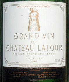   Pauillac Bordeaux Wine Labels on Rick's WineSite
