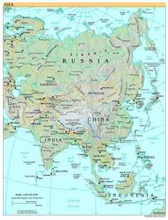 Check out the map of asia continent showing all the countries high resolution world map pdf bing images gumiabroncs Choice Image