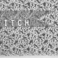 Crochet: Offset Shell Stitch
