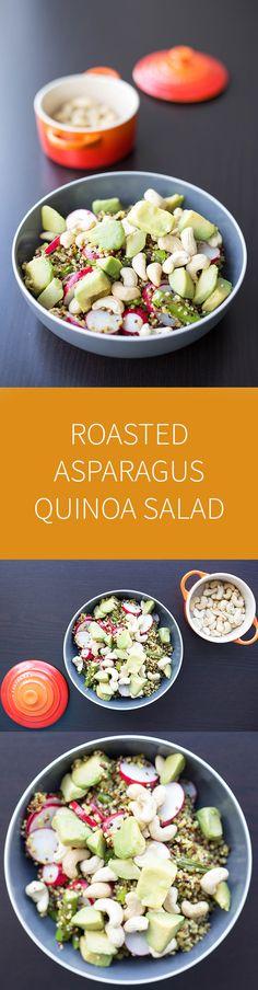 roasted asparagus quinoa salad roasted asparagus quinoa salad the ...