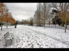 Peckham Rye Park London Snow by LondonCamera, via Flickr