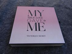 """""""My True Love Gave To Me"""" Victoria's Secret Thong Panty Set of 12 w/ Glitter Box…"""