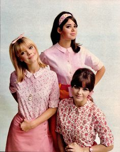Fashion Dolls and Fashion Scans — Dearborn 1966 Paula Feiten, Colleen Corby and...