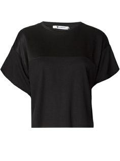T BY ALEXANDER WANG - cropped boxy t-shirt