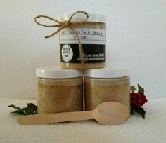Check out this item in my Etsy shop https://www.etsy.com/listing/575279171/hot-cocoa-salt-scrub-chocolate-vanilla