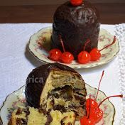 Panettoncini stuffed with chocolate and the legend of the cake
