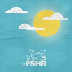 #cover #album #design #illustration #spring #sun #clouds #blue #FSHR