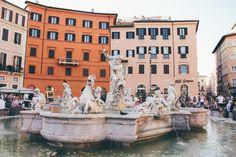 Fontana del Nettuno (Fountain of Neptune), Rome Italy -- The 25th Hour Studio
