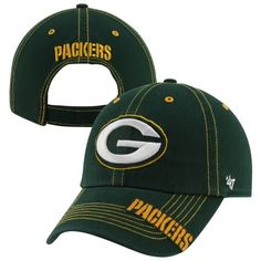 '47 Brand Green Bay Packers Chill Adjustable Hat - Green