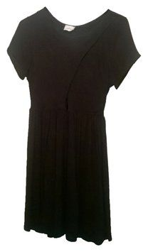 802be7b8a60 Audrey 3+1 Black Above Knee Short Casual Dress Size 8 (M)
