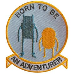 Adventure Time Patch #pinsandpatches