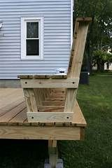 built in benches for decks - Yahoo Image Search Results