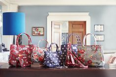 Cath Kidston AW15 - Embossed Tote Bags