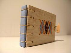 argyle.secret belgian binding balsa notebook | Flickr - Photo Sharing!