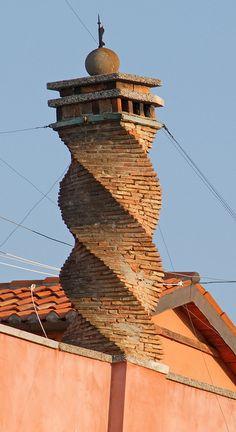 venetian chimneys - Google Search