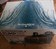 Active Aqua 550 GPH Submersible Water Pump Hydroponics Aquarium Fountain Pond