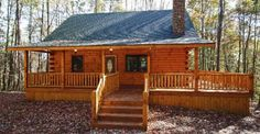 Impressive Fireside Log Cabin with Interior Photos You Should See!