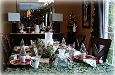 Dining Delight: A Merry Little Christmas Tablescape Christmas morning breakfast
