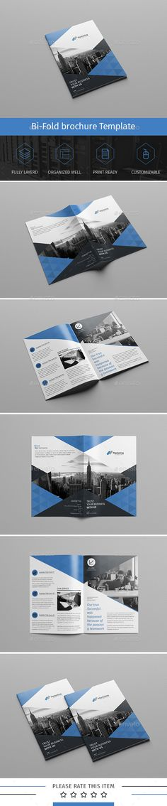 Corporate Bi-fold Brochure Template PSD. Download here: http://graphicriver.net/item/corporate-bifold-brochuremultipurpose-05/15864762?ref=ksioks