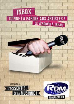 Campagne RDM Radio 2014 - Inbox