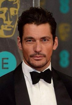 Style ICON David Gandy - attending the 2014 #BAFTA's tonight (16 Feb)