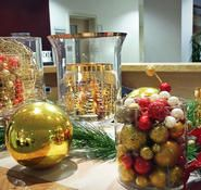 Lime and Purple Christmas decorations for hire Our lime and