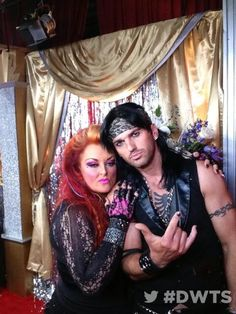 Wynonna Judd & Tony Dovolani @ Dancing With The Stars
