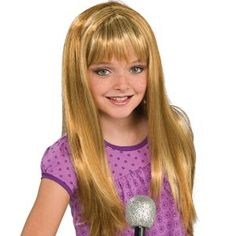 Outstanding Amazon Com Hannah Montana Child Wig Toys Games Costumes Hairstyles For Men Maxibearus
