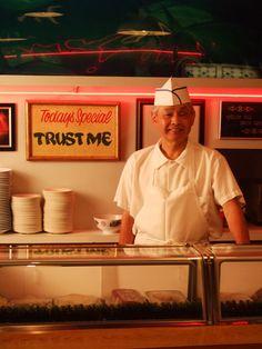 Chef Nozawa at Sushi Nozawa