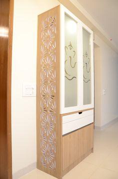 Living Room Partition Design, Pooja Room Door Design, Living Room Tv Unit Designs, Room Partition Designs, Small Room Design, Home Room Design, Home Interior Design, Indian Room Decor, Temple Design For Home