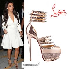 ShoeDoll on Pinterest | Kim Kardashian, Christian Louboutin and ...