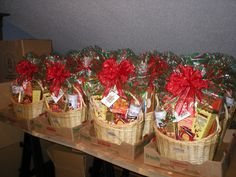 Everything Sweet gift baskets for Collier International
