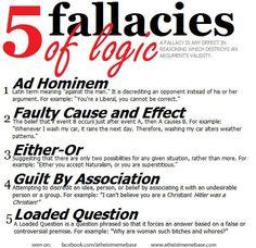 Argument (Poor Logic & Propaganda Techniques)